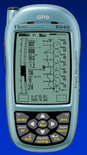Flytec 6040 instrument