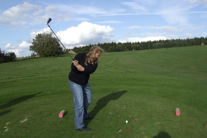 Golf in Kořenec