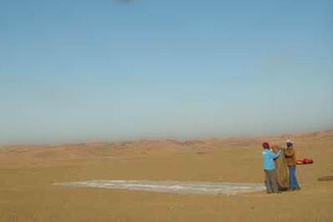 New destinations: Africa desert!