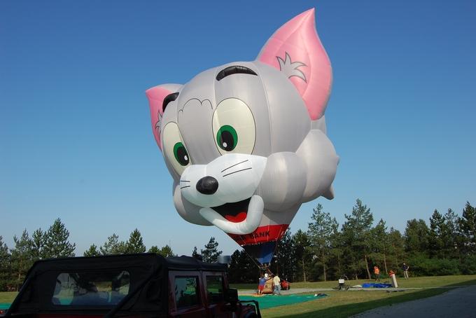 Katka's 100th balloon