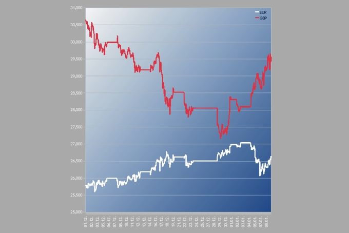 Unsteady currencies