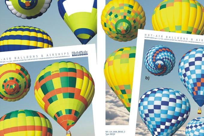 Wider range of stock balloons