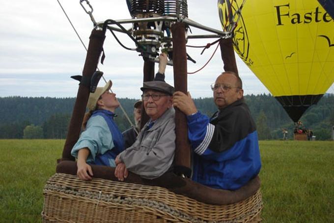 The oldest passenger in Czech Republic