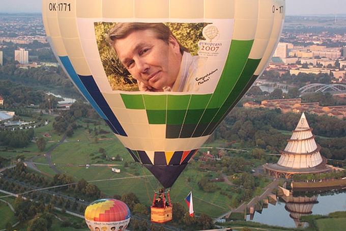 Kubíček Balloons were partners of Europeans 2007 in Magdeburg