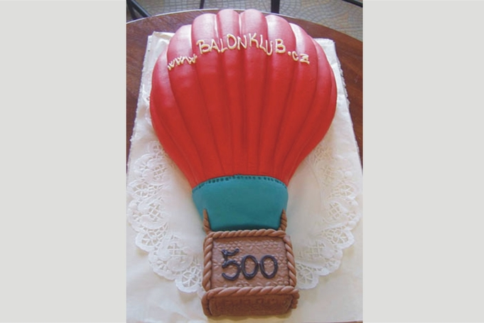 500th balloon produced by Kubíček