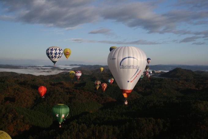 Summer balloon meetings