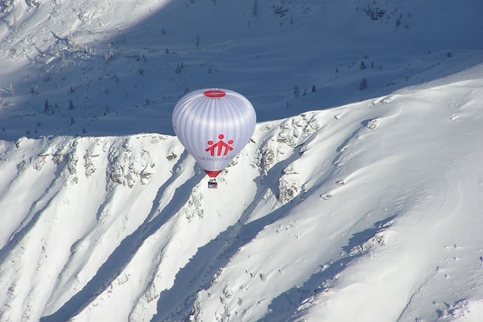Another Kubicek balloon in the Alps