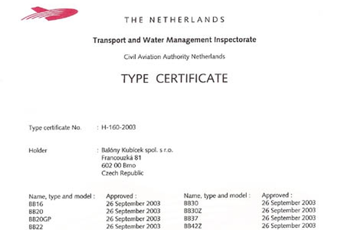 Certification in Holland