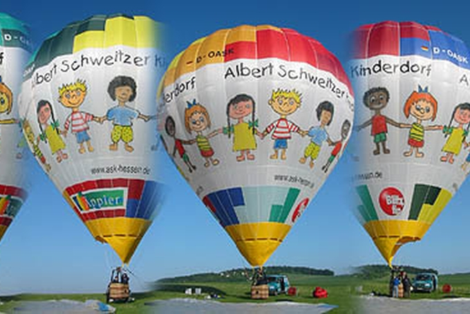 Balloon of children