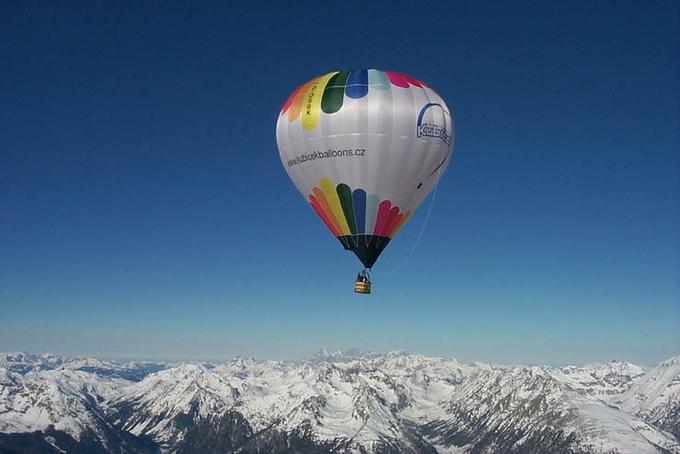 Stratos Balloning - New balloons demonstration