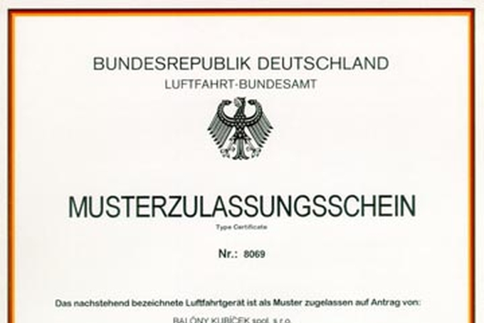 Certifikation in Germay