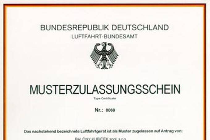 Certifikation in Germay