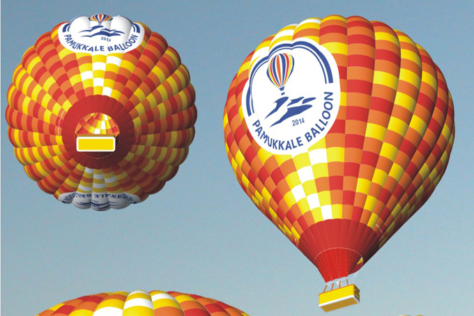Pamukkale Balloons flies with Kubicek