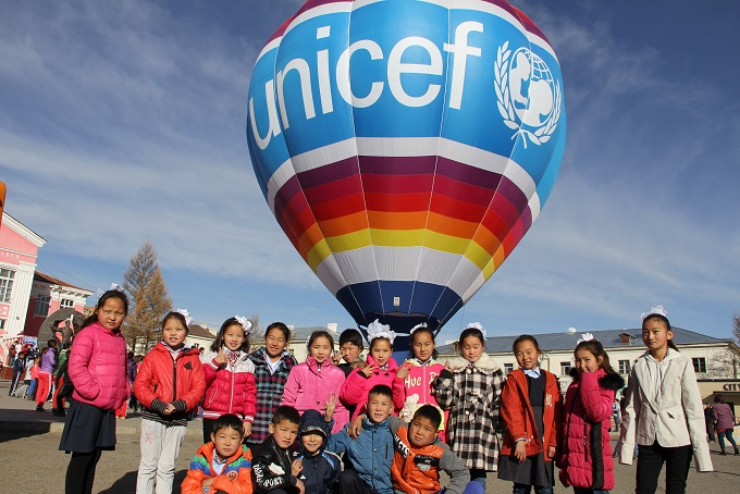 Unicef Asian tour