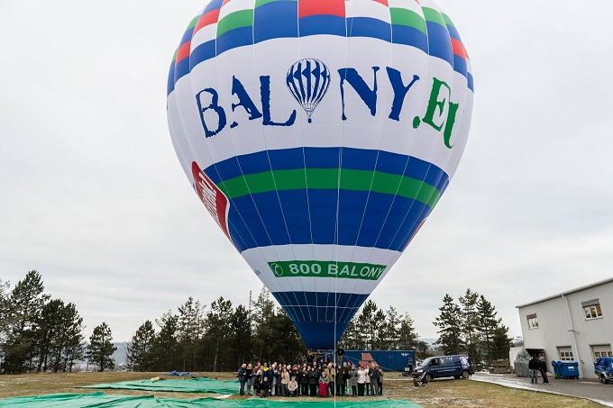 100th Balloon Inflated!