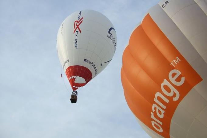 Balloon fiesta in Moldova