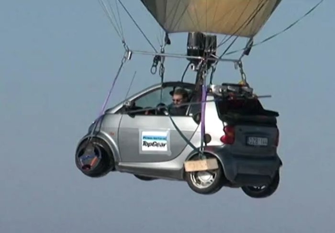 Flying Top Gear Lithuania