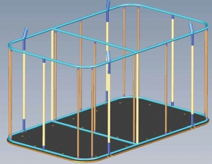 Basket construction