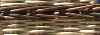 brown (natural) wicker