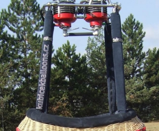 Embroidery on the pole covers