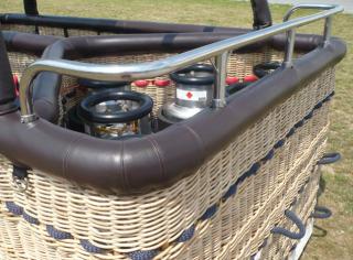 Pilot bar - T/Y basket