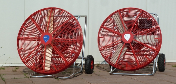 Inflator fans VH9 and VH13